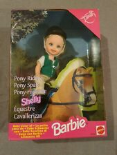 Pony Spaß Shelly / Reiterin / Pony Riding Kelly Puppe - 23767 Mattel Barbie 1998