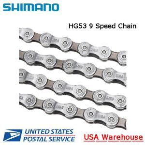 Shimano CN-HG53 9 Speed Chain MTB ROAD Deore Tiagra Alivio Hyperglide OE