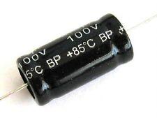 Condensatore Elettrolitico assiale 2,2uF 100V non polarizzato