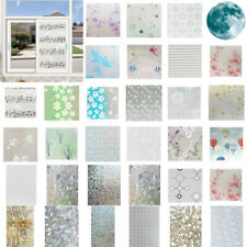 3D PVC Frosted DIY Self-Adhesive Window Glass Film Sticker Privacy Protection