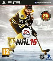 NHL 15 PS3 PlayStation 3 PEGI 12+ Brand New & Factory Sealed FAST FREE SHIPMENT