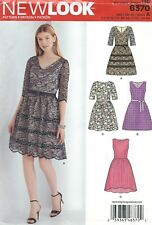 New Look 6370 Misses' Dresses 8 to 18 *Compare at $11*   Sewing Pattern