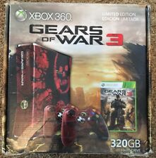 XBOX 360 GEARS OF WAR 3 ☆ EMPTY BOX ONLY - NO CONSOLE ☆ LIMITED
