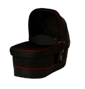 Graco evo xt carrycot - Black/Red best suited for Newborn Baby