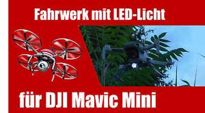 Landegestell für DJI Mavic Mini - Landefüße mit LED Nachtlicht für Drohne