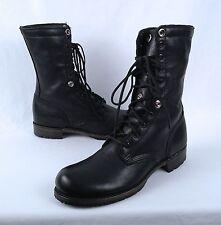 Vintage Shoe Company 'Ian' Military Combat Boot- Black- Size 9 M  (B20)