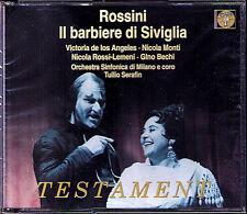 ROSSINI: IL BARBIERE DI SIVIGLIA Victoria de Los Angeles Gino Bechi SERAFIN 2CD