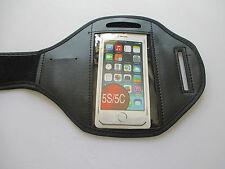 Bande de bras pour iPhone 5C & S MP3 Lecteur Noir