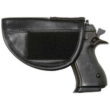 Awesome Concealed Carry Leather  Holster For Vests, Jackets, Keychain Knife Too