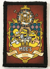 Simpsons Moe's Tavern Morale Patch FunnyTactical Military Army Flag USA Badge