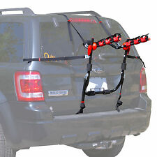 Trunk-Mount 3-Bike Carrier Hatchback SUV or Car Sport Bicycle Rack