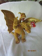 King Ghidorah Ty Beanie Baby - 2001 - Mint with tag - Godzilla