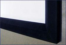 """Maxstsr 100"""" Fixed Wall Projector Screens 16:9 Aluminum Frame w/Blackvelvet"""
