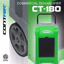 Contair® CT-180 XL Commercial Grade Dehumidifier Humidity Control ETL Green