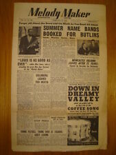 MELODY MAKER 1948 FEB 28 LOUIS ARMSTRONG RONNIE MUNRO