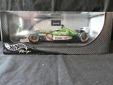 Hot Wheels 1:18 Eddie Irvine Jaguar Racing R3 F1 2002 HSBC 54628