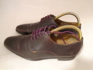 Ps PAUL SMITH 'Moore' Brown Leather Shoes UK6 EU 40