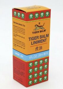 28 ml TIGER BALM Liniment Oil Pain MASSAGE RELIEF Massage arthritis rheumatism