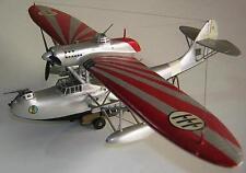 Z.501 CANT CRDA Italy Flying Boat Airplane Mahogany Wood Model Small New
