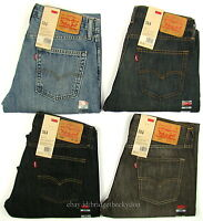 Levis 514 Jeans New Mens Slim Straight Levi's 29 30 31 32 33 34 36 38 40 42 x