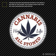 420 Cannabis Sticker Decal Self Adhesive Vinyl marijuana weed