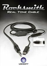CABLE ROCKSMITH REAL TONE SOLO CABLE NUEVO PS4 ONE PS3 XBOX 360 PC 2014