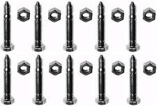 (10) SHEAR PINS & BOLTS for Wheel Horse 3285-11 Snowthrowers Snowblowers Augers