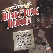 Honky Tonk Heroes -- Various Artists -- New Country Music CD