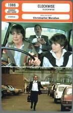 CLOCKWISE - Cleese,Leatherbarrow,Morahan (Fiche Cinéma) 1986