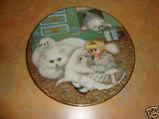 Captive Audience Hamilton collec Country kitties plate