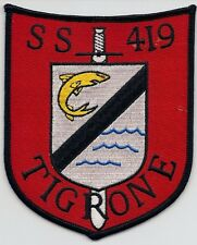 USS Tigrone SS 419, Submarine Patch, BC Patch Cat No. c6994