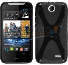 FUNDA de GEL TPU X-LINE NEGRA para HTC DESIRE 310 en ESPAÑA case