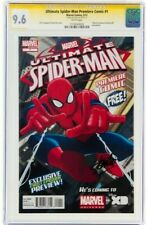Stan Lee Signed 2012 Spider-Man #1 Ss Marvel Comics Cgc Graded 9.6 Nm+ White Pgs