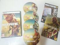 MAX PAYNE 3 ROCKSTAR GAMES - JUEGO PARA PC - 4 X DVD-ROM EDICION ESPAÑA