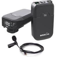 Rode RodeLink Filmmaker Ansteck-Funkmikrofon Drahtlos-System