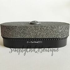 Limited Edition MAC Collectible Keepsake *Makeup Storage Box* Silver Organize