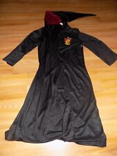 Child Size Large / XL Harry Potter Gryffindor Halloween Costume Robe Cloak EUC