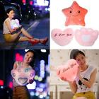 Romantic LED Light Up Glow Pillow Soft Cosy Relax Cushion Stars Gift for kid #P