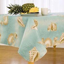 Vinyl Nautical Oblong Tablecloths