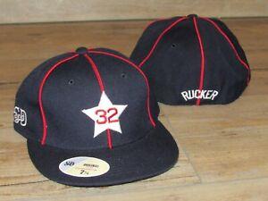 Rucker #32 Dr.J Stars Harlem Court Stall & Dean Fitted Hat Cap Men's Size 7 1/2
