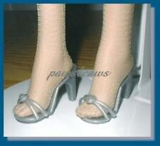 SILVER High Heel Sandals Doll SHOES fit TYLER WENTWORTH Gene Alex ELLOWYNE