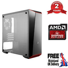 Ultra Fast AMD Quad Core 8GB 4TB Home Office Gaming PC Computer Radeon R7 CM