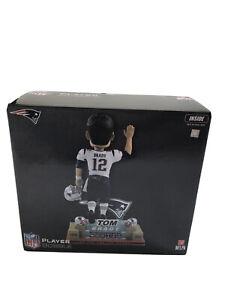 New England Patriots Limited Ed 6X Superbowl Tom Brady Farewell Bobblehead  MIB