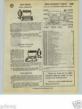 1932 PAPER AD Royal Gas Gasoline Coleman Sad Iron 5 Image Carpet Rug Beater Whip