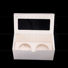 24 Hole Window Face Cupcake Boxes 50 boxes + 50 Inserts
