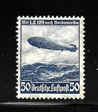 Hick Girl-Old Mint German Airmail Sc#C57 Hindenburg Issue 1936 X8325