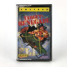 TARGET RENEGADE  ERBE LOMO AZUL IMAGINE ESPAÑA 1988 AMSTRAD CPC 464 664 CASSETTE