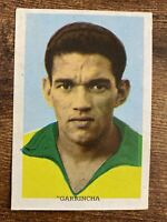 Garrincha #261 Card Album World Cup Mexico 70 Ases Mundial Futbol Soccer