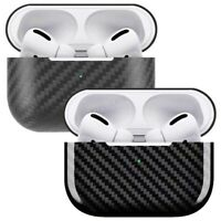 For Apple AirPods Pro Charging Case Genuine Carbon Fiber Ultra Slim Skin Cover