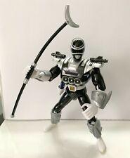 "Bandai vintage Power Rangers in Space 8"" Black Astro Armor Ranger used complete"